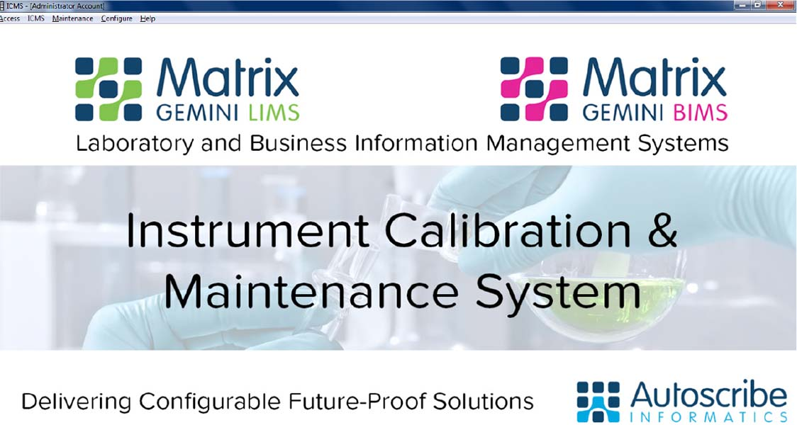 Instrument Calibration & Maintenance System