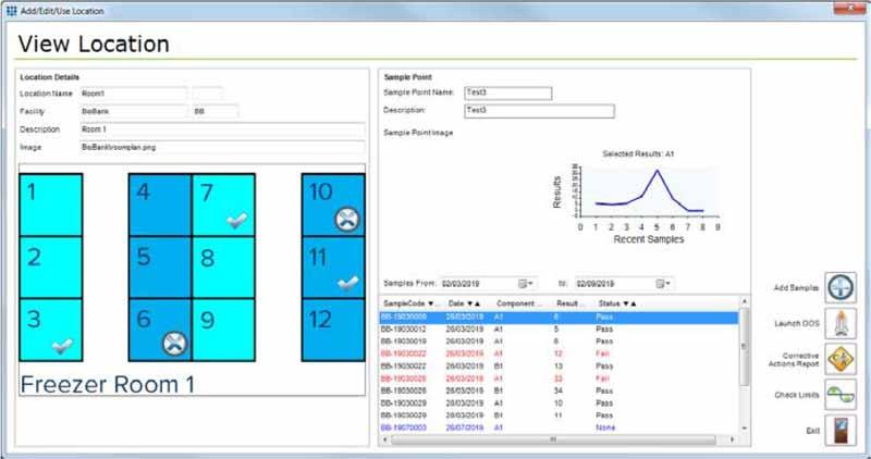 Biobank Environment Monitoring